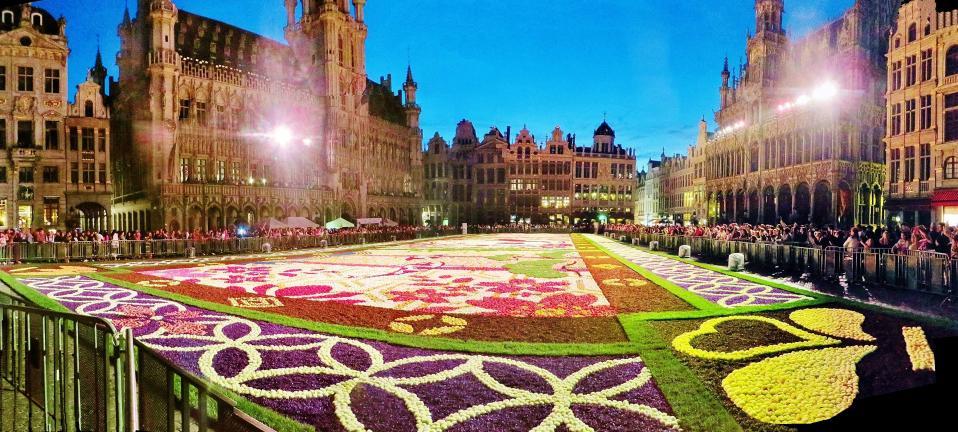 Coach 2 - Brussels - Carpet Of Flowers